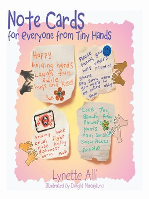 cover image of Note Cards for Everyone from Tiny Hands